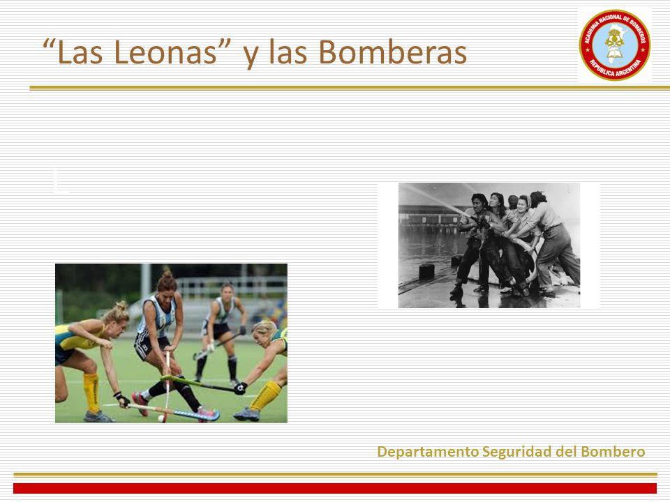Las Leonas y las Bomberas