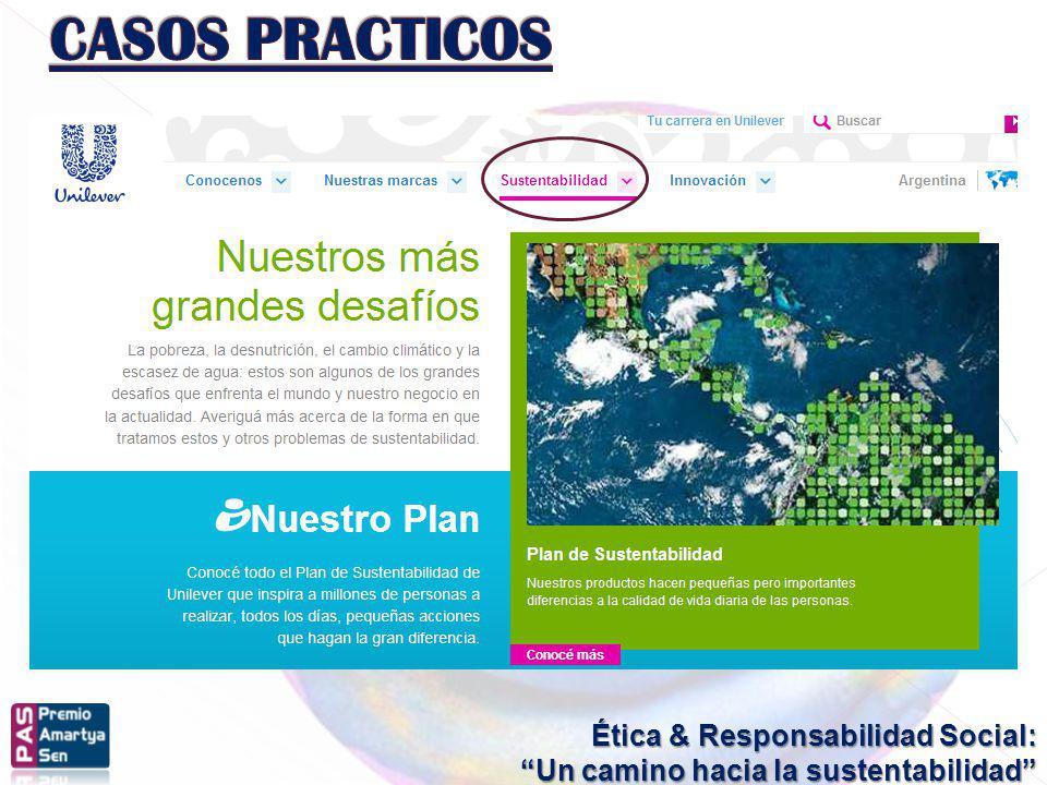 CASOS PRACTICOS Ética & Responsabilidad Social: