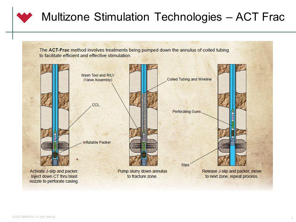 Sistemas de multi-fracturas Open Hole