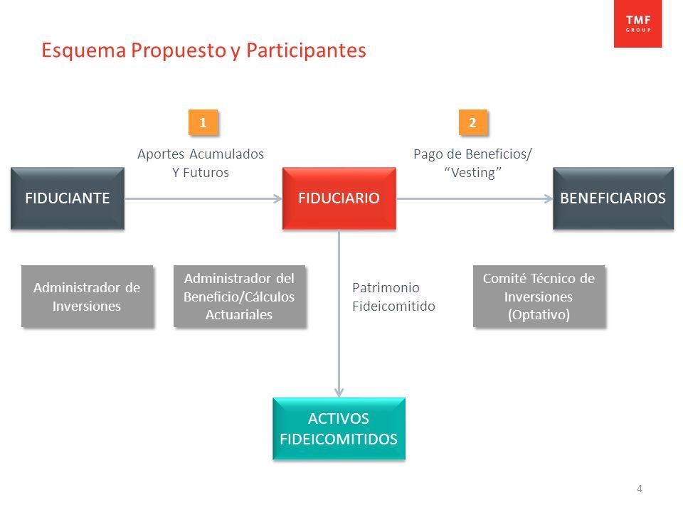 Esquema Propuesto y Participantes