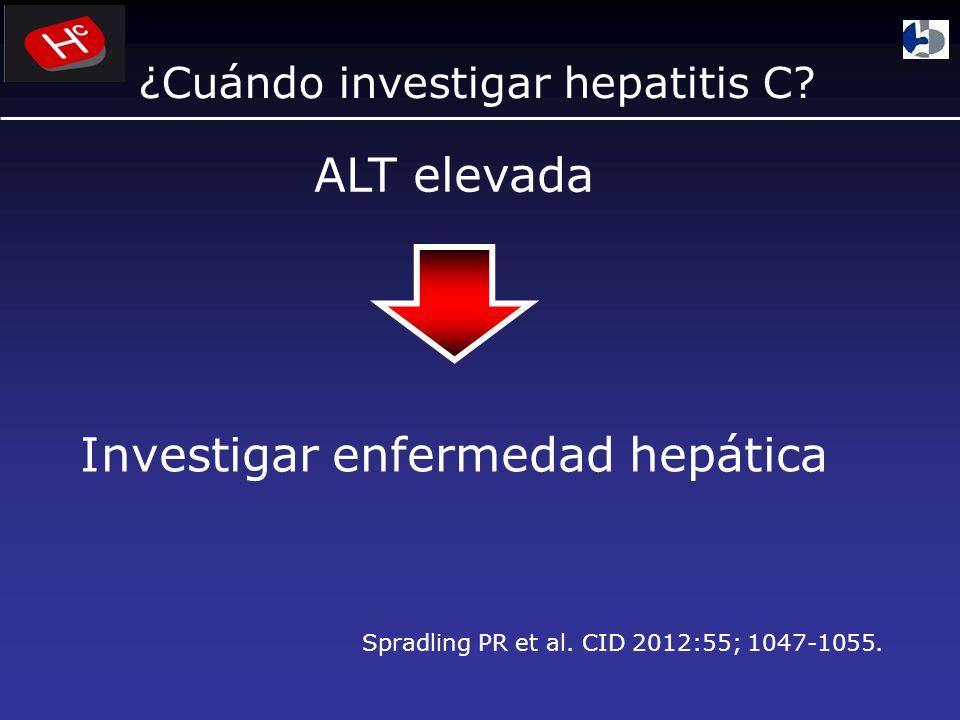 Investigar enfermedad hepática