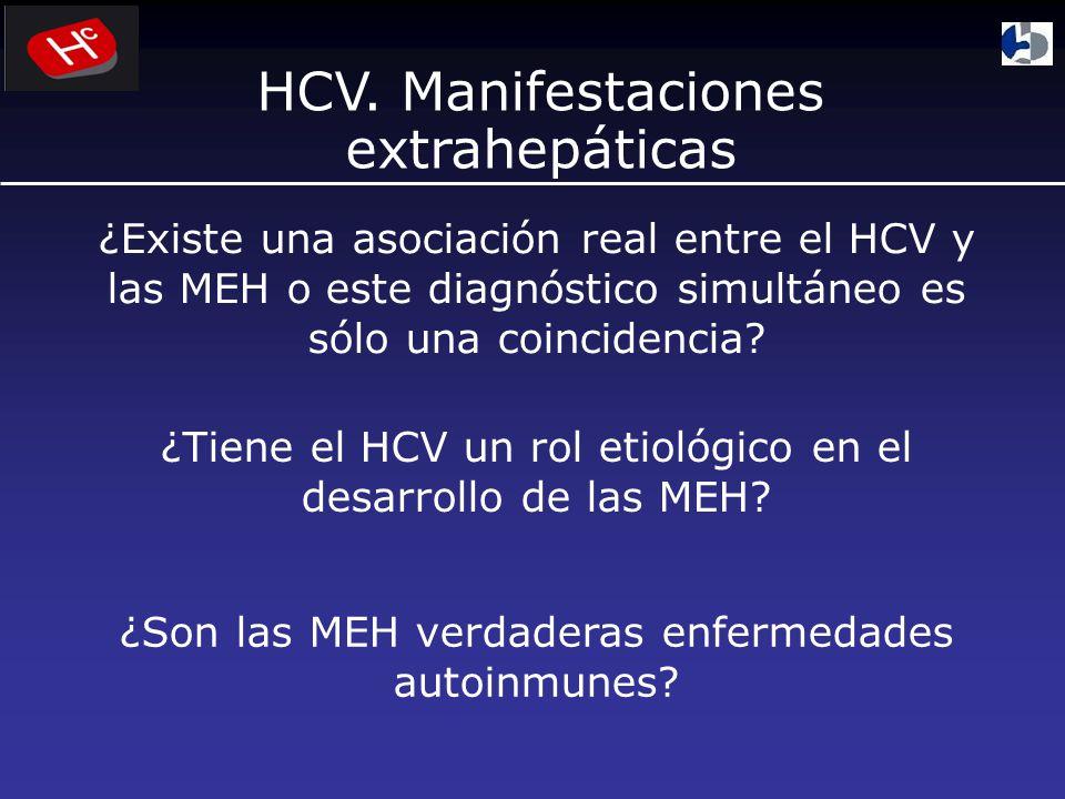 HCV. Manifestaciones extrahepáticas
