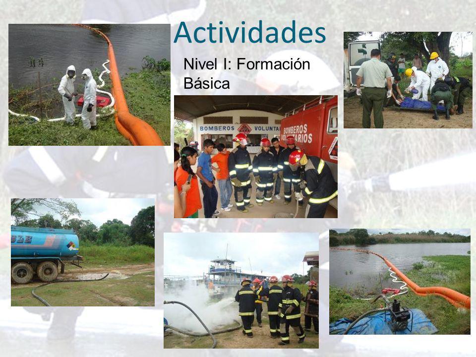 Actividades Nivel I: Formación Básica
