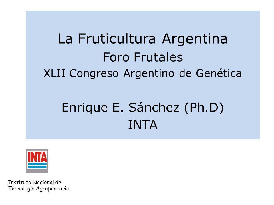 La Fruticultura Argentina