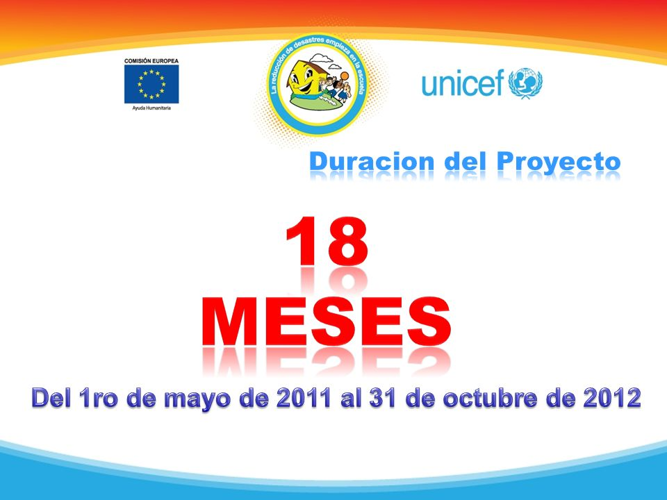 Del 1ro de mayo de 2011 al 31 de octubre de 2012
