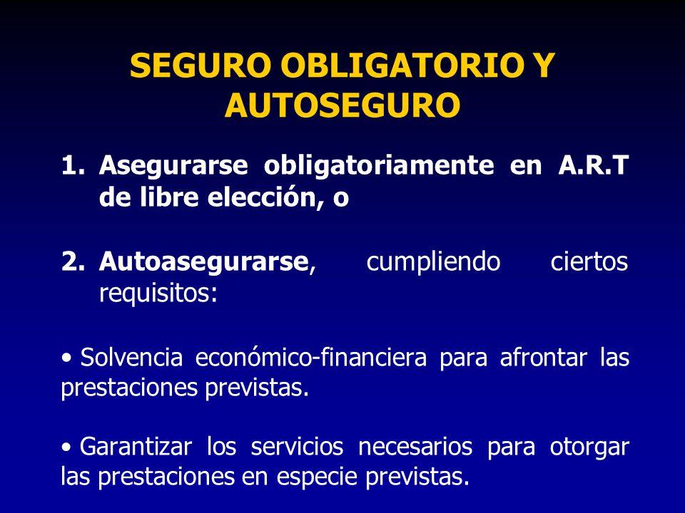 SEGURO OBLIGATORIO Y AUTOSEGURO