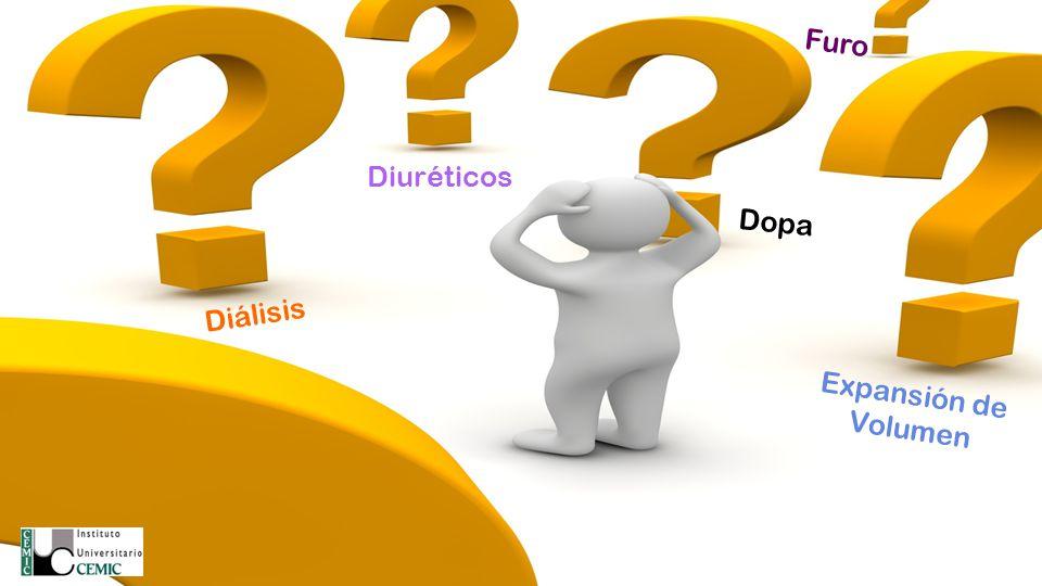 Furo Diuréticos Dopa Diálisis Expansión de Volumen