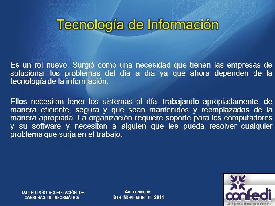 Tecnología de Información