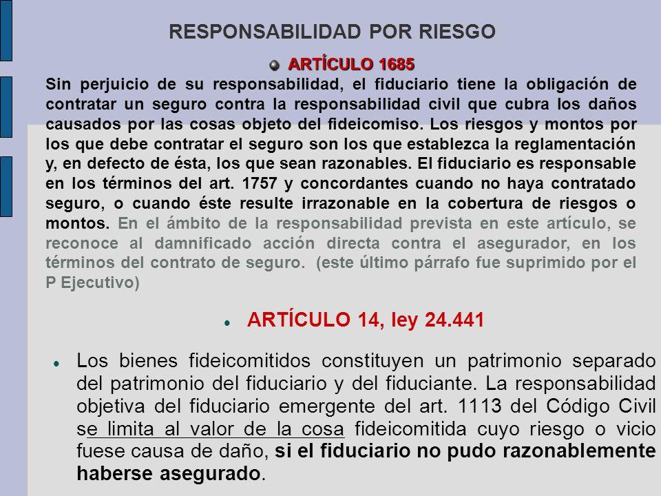 RESPONSABILIDAD POR RIESGO