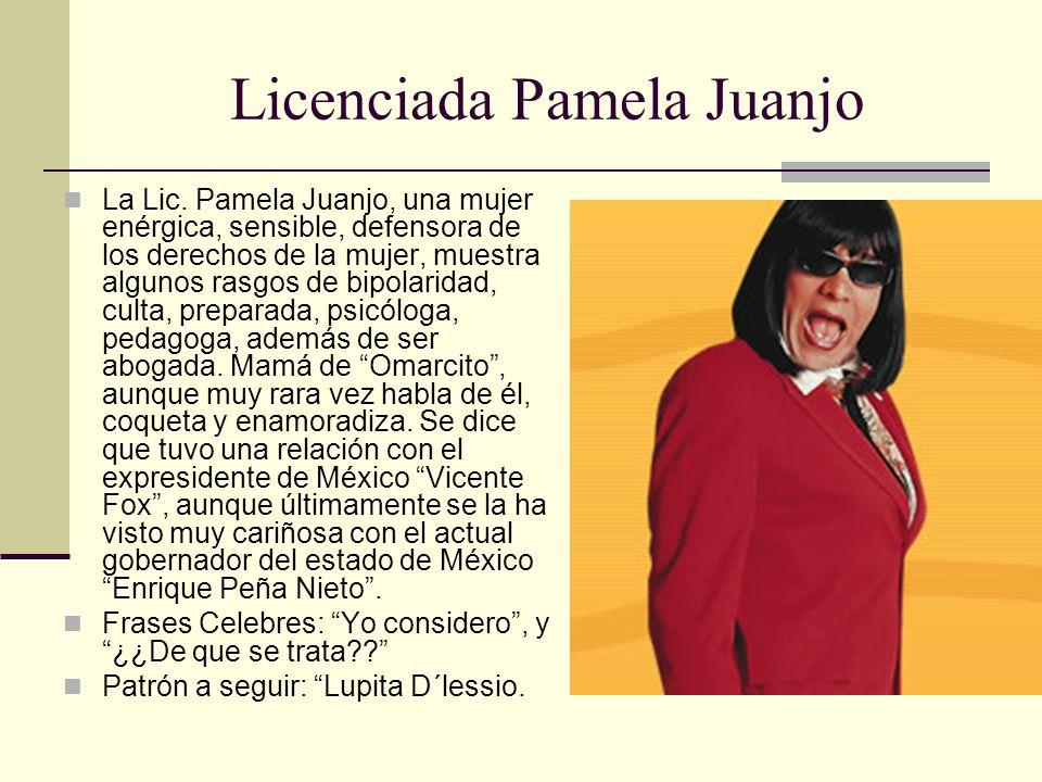 Licenciada Pamela Juanjo