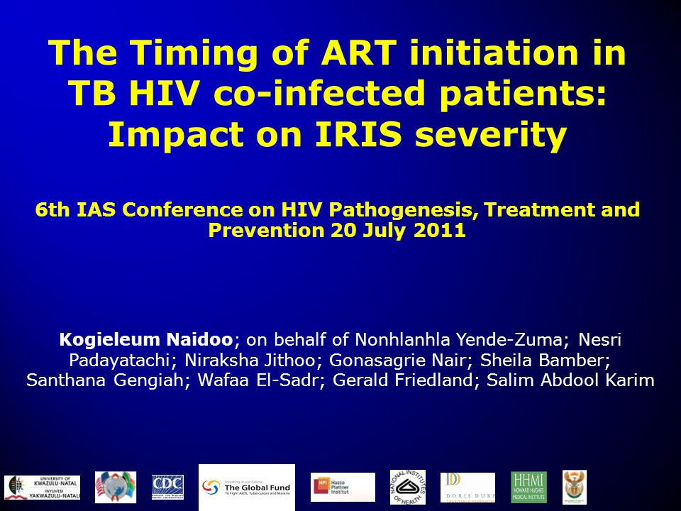 The Timing of ART initiation in TB HIV co-infected patients: