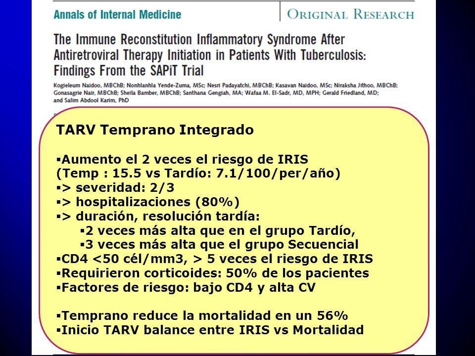 TARV Temprano Integrado