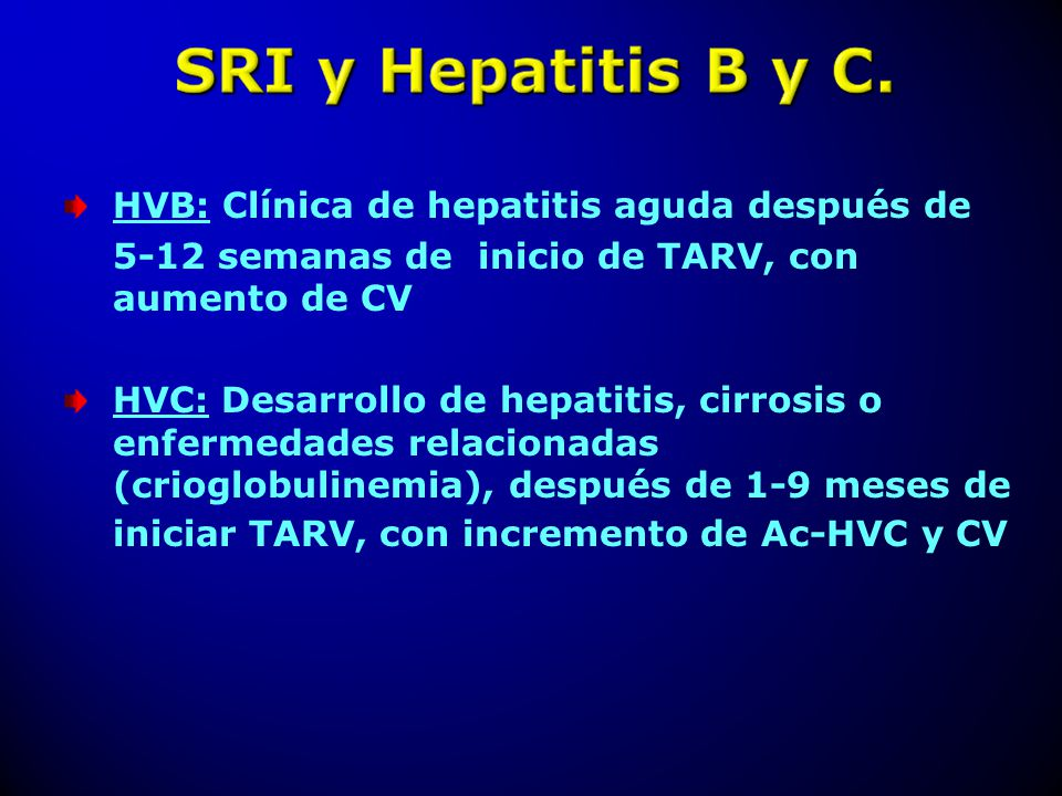 HVB: Clínica de hepatitis aguda después de