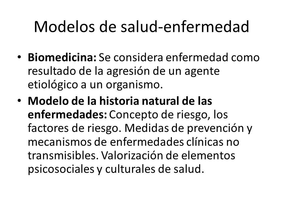 Modelos de salud-enfermedad
