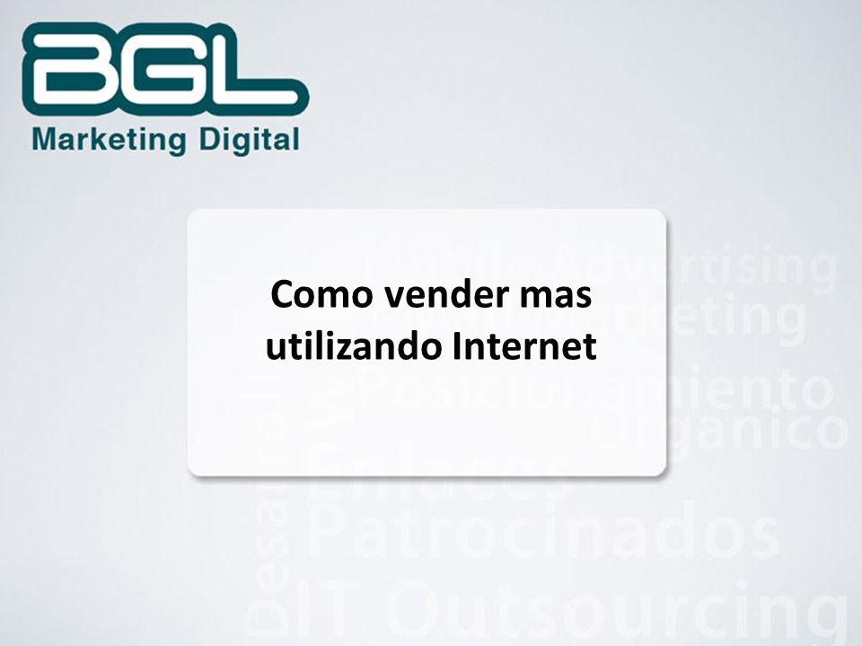 Como vender mas utilizando Internet