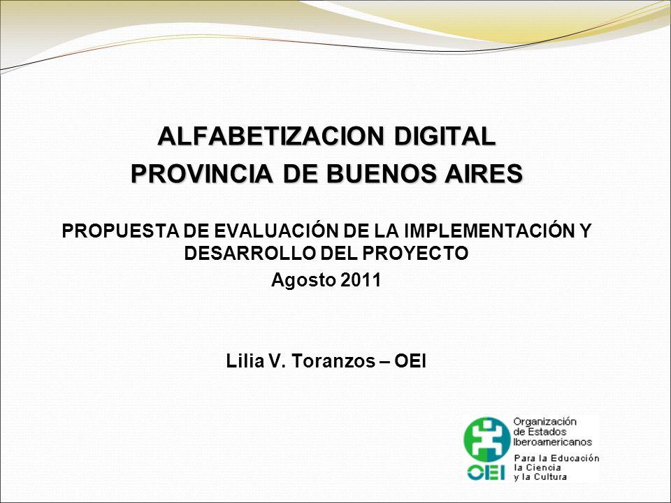 ALFABETIZACION DIGITAL PROVINCIA DE BUENOS AIRES