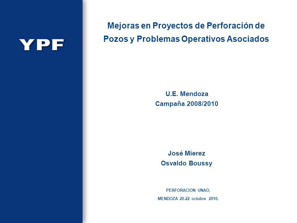 Mejoras en Proyectos de Perforación de Pozos y Problemas Operativos Asociados