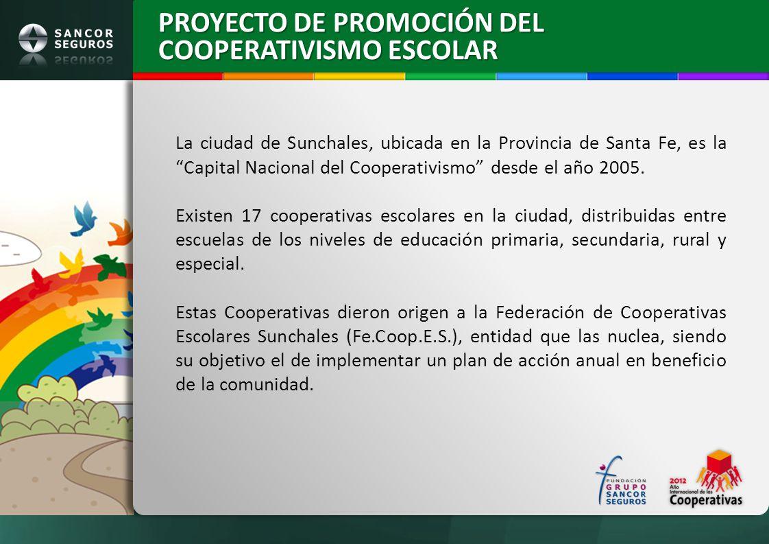 PROYECTO DE PROMOCIÓN DEL COOPERATIVISMO ESCOLAR
