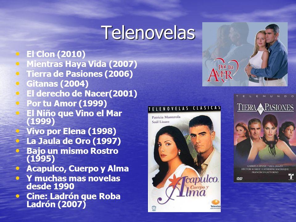Telenovelas El Clon (2010) Mientras Haya Vida (2007)
