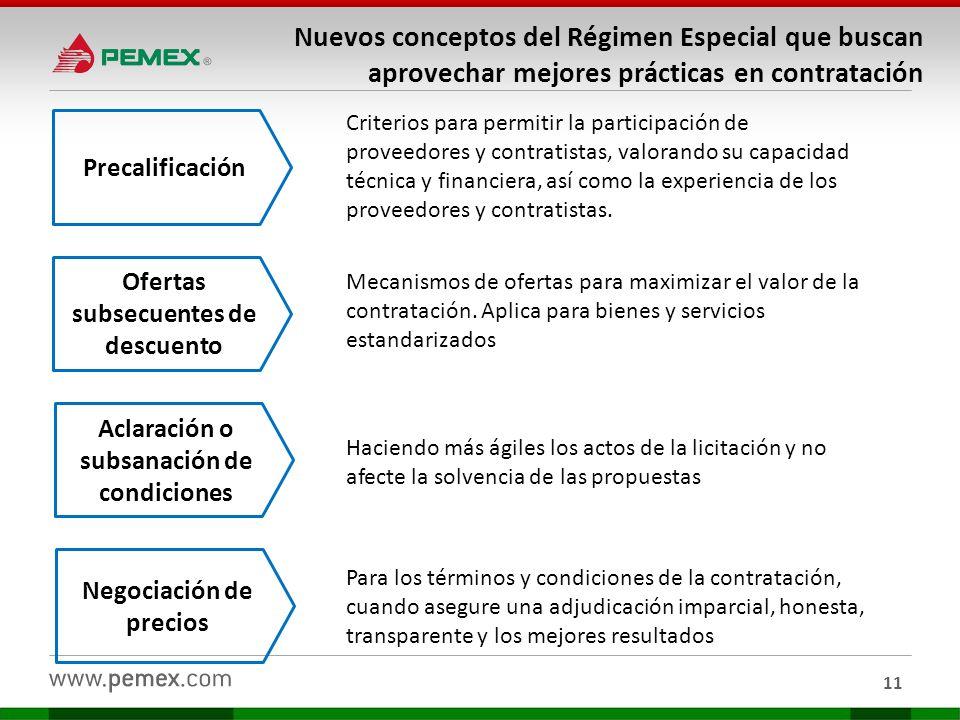 Nuevos conceptos del Régimen Especial que buscan aprovechar mejores prácticas en contratación
