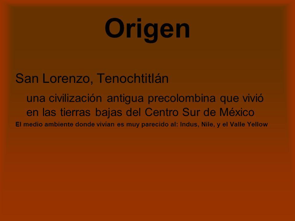 Origen San Lorenzo, Tenochtitlán