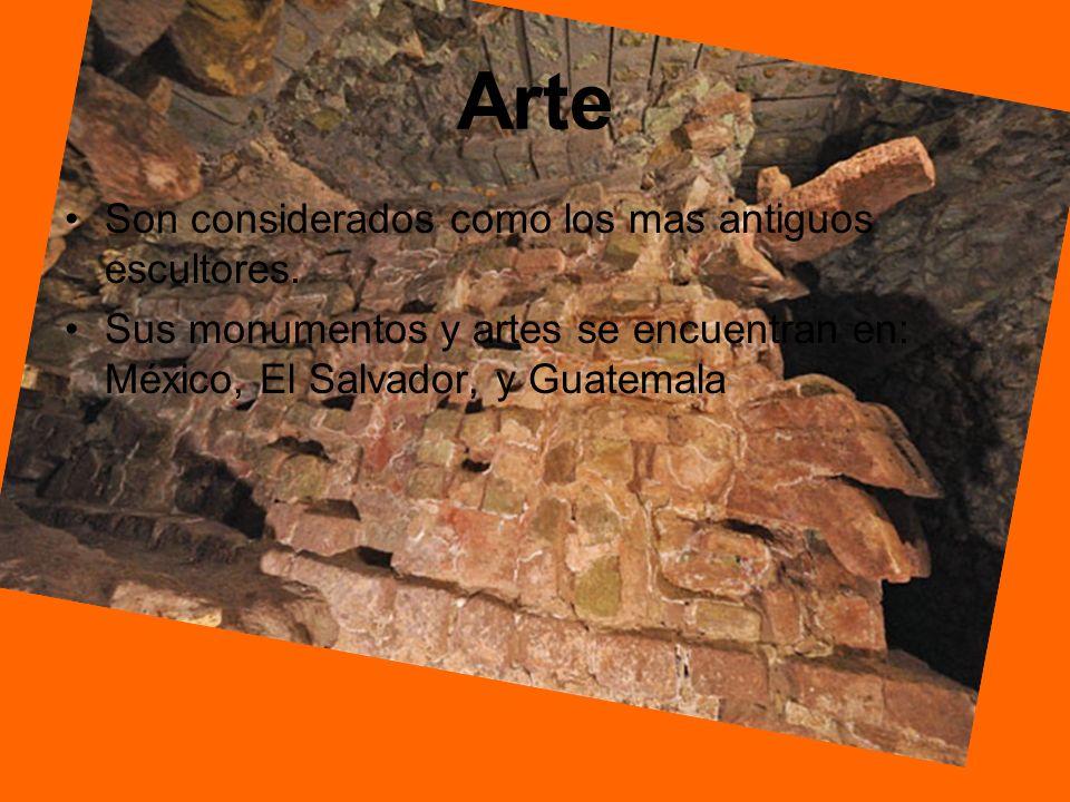 Arte Son considerados como los mas antiguos escultores.