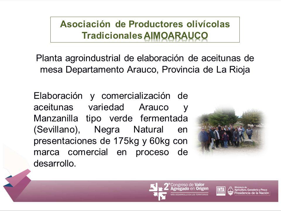Asociación de Productores olivícolas Tradicionales AIMOARAUCO