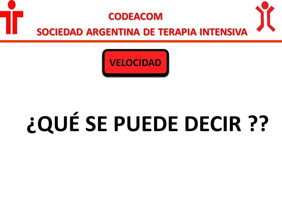 SOCIEDAD ARGENTINA DE TERAPIA INTENSIVA