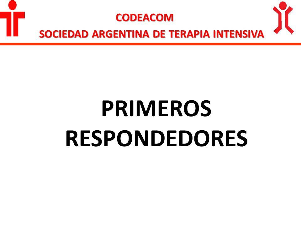 SOCIEDAD ARGENTINA DE TERAPIA INTENSIVA PRIMEROS RESPONDEDORES