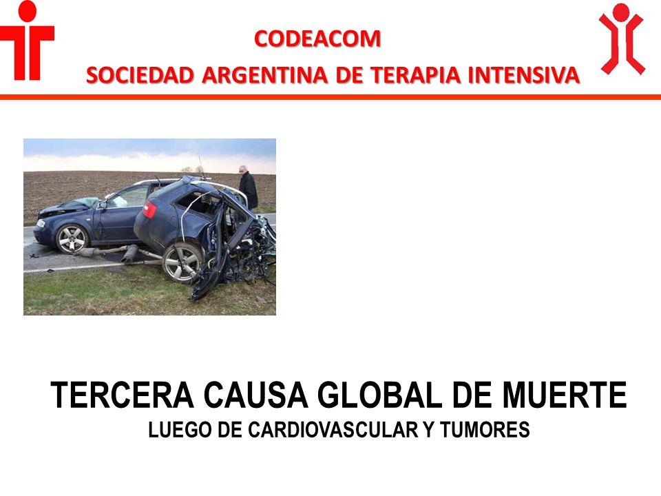 TERCERA CAUSA GLOBAL DE MUERTE