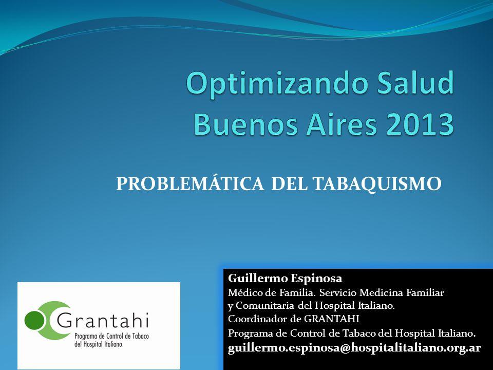 Optimizando Salud Buenos Aires 2013