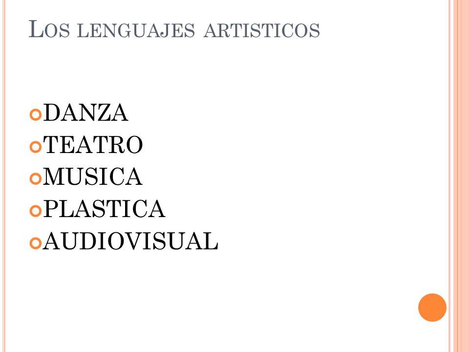 Los lenguajes artisticos
