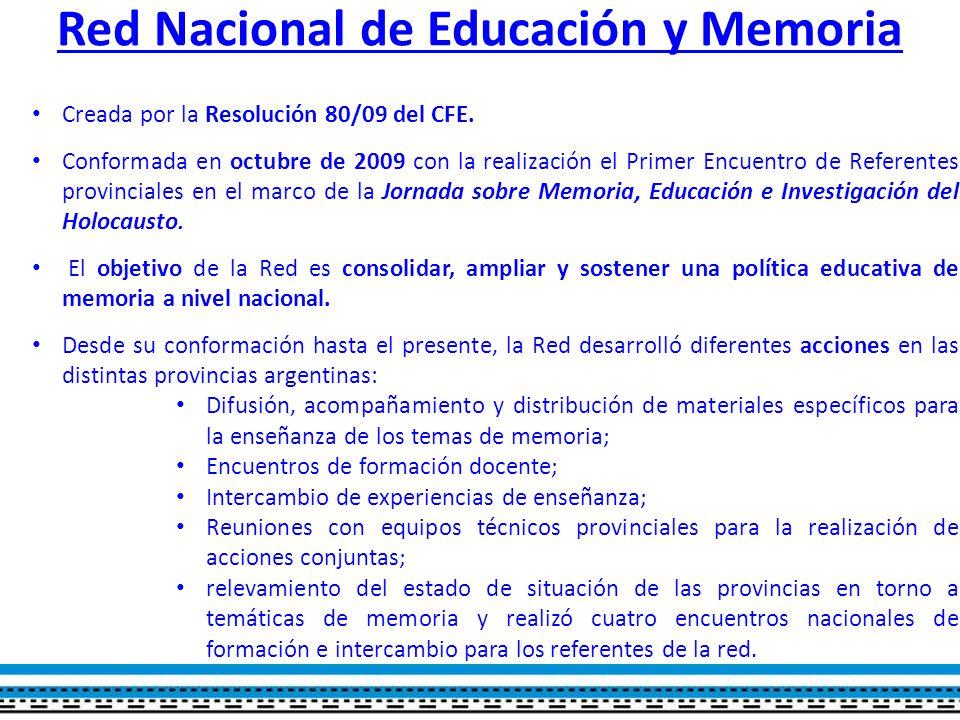 Red Nacional de Educación y Memoria