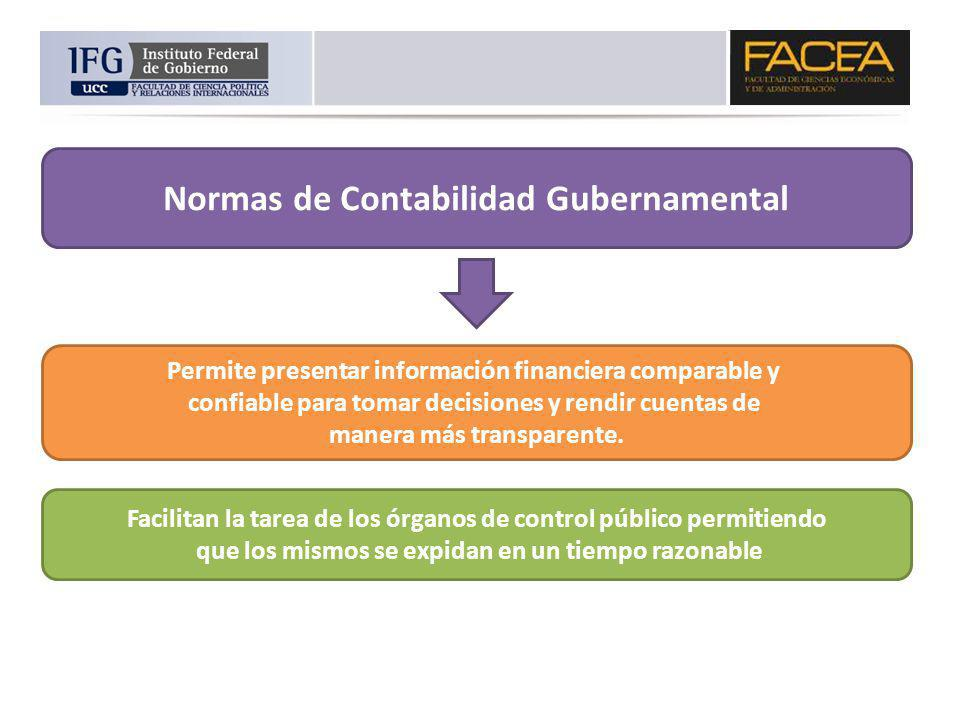 Normas de Contabilidad Gubernamental