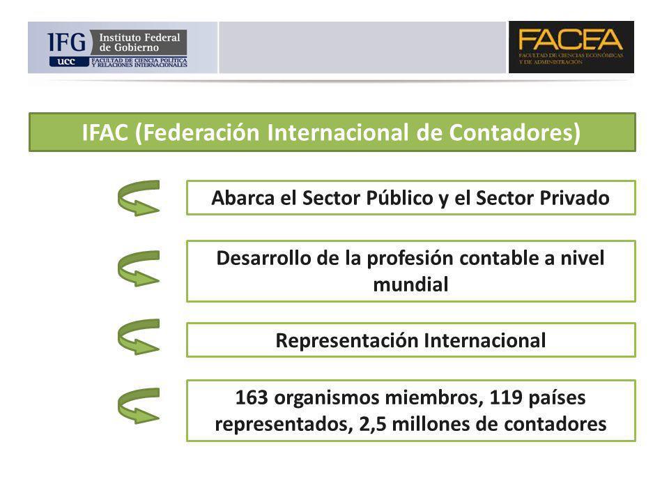 IFAC (Federación Internacional de Contadores)
