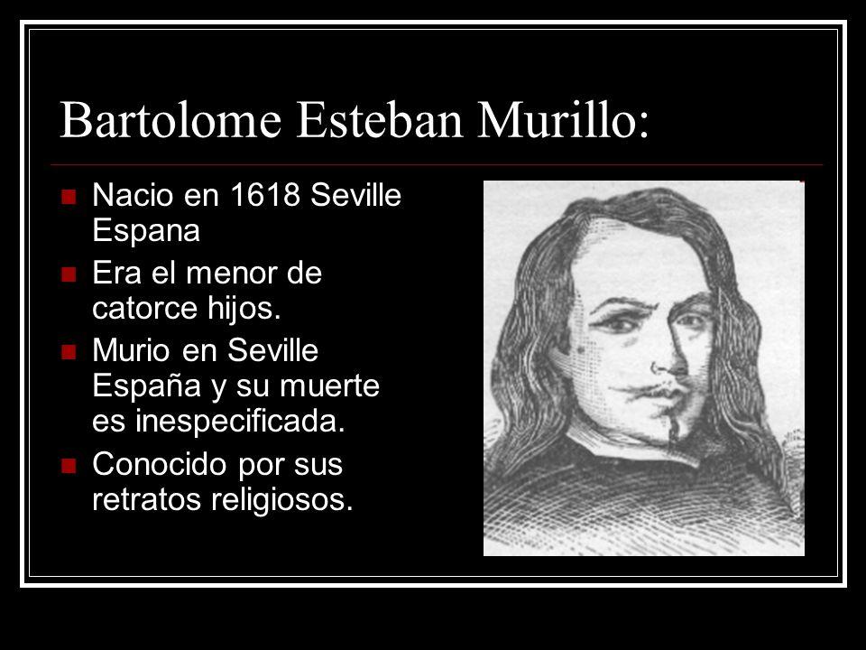 Bartolome Esteban Murillo: