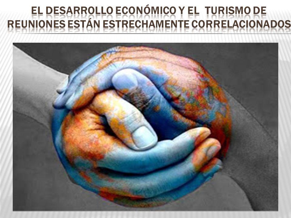 El desarrollo económico y el turismo de reuniones están estrechamente correlacionados