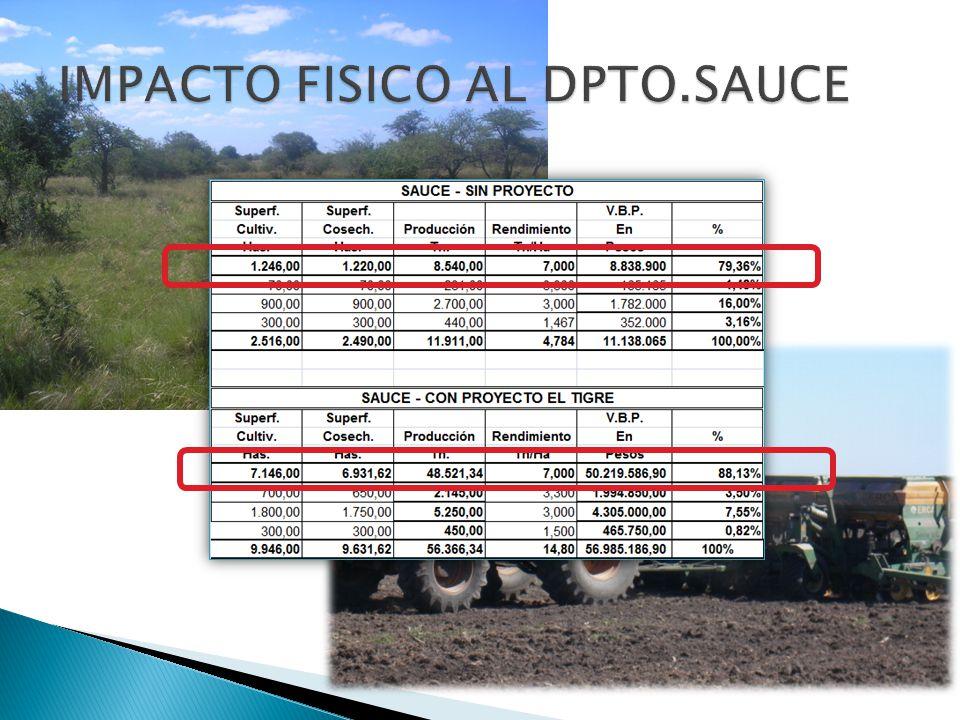 IMPACTO FISICO AL DPTO.SAUCE