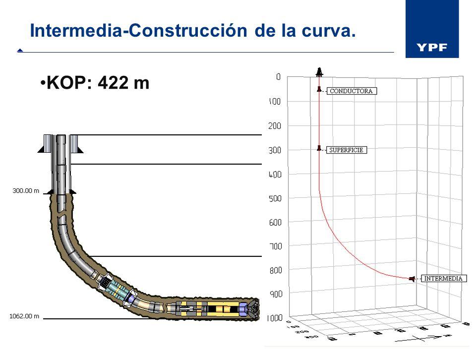 Intermedia-Construcción de la curva.