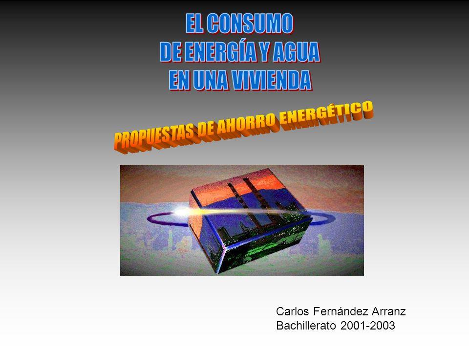PROPUESTAS DE AHORRO ENERGÉTICO