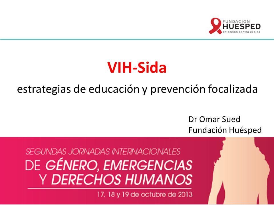 estrategias de educación y prevención focalizada