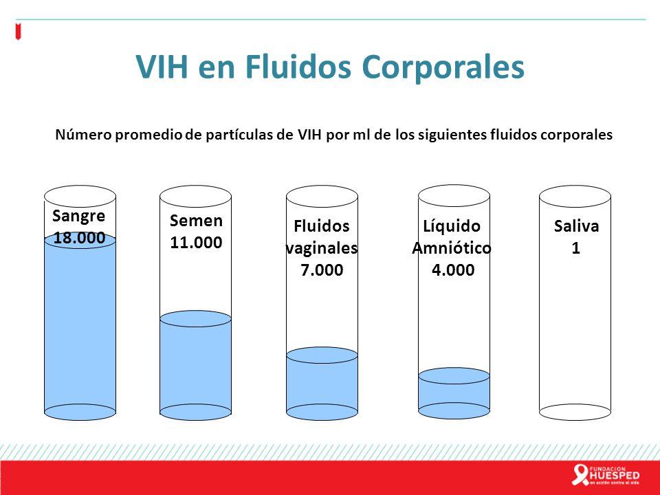 VIH en Fluidos Corporales