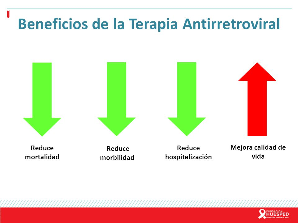Beneficios de la Terapia Antirretroviral