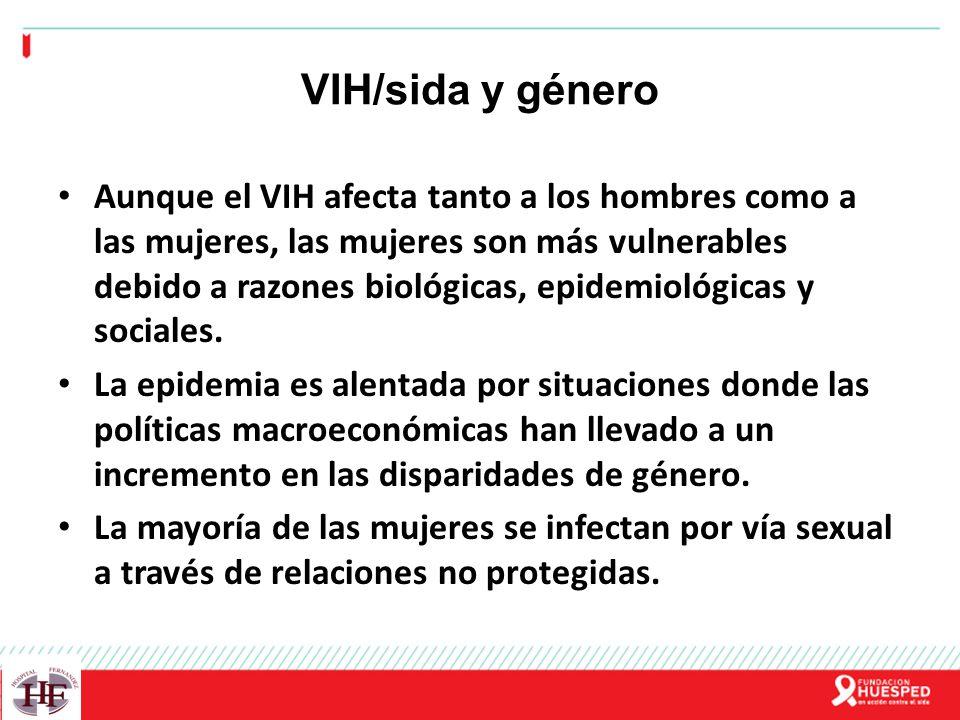 VIH/sida y género
