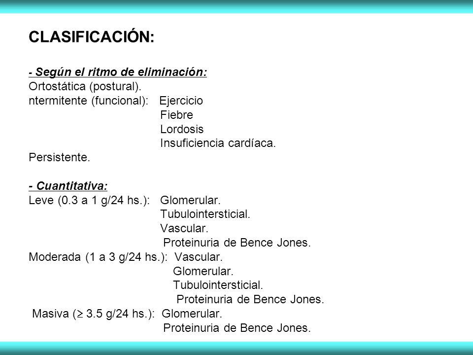 CLASIFICACIÓN: Ortostática (postural).