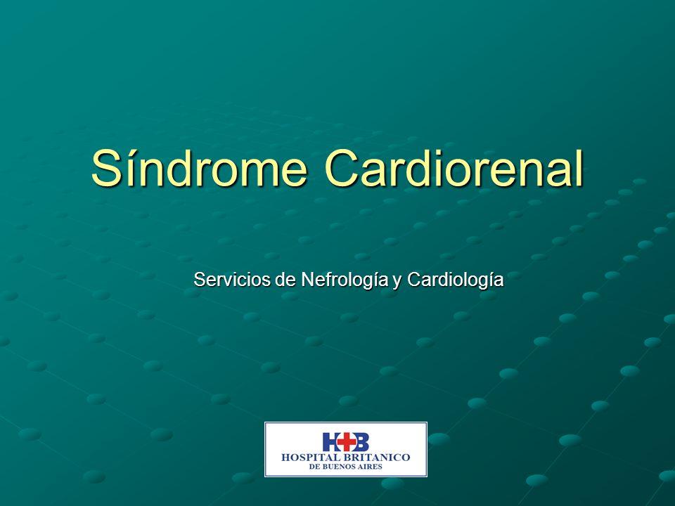 Servicios de Nefrología y Cardiología