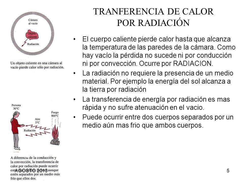 TRANFERENCIA DE CALOR POR RADIACIÓN