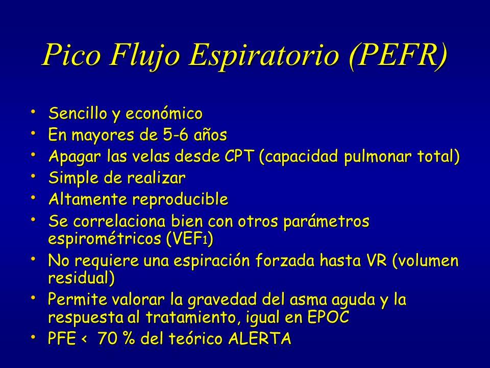 Pico Flujo Espiratorio (PEFR)