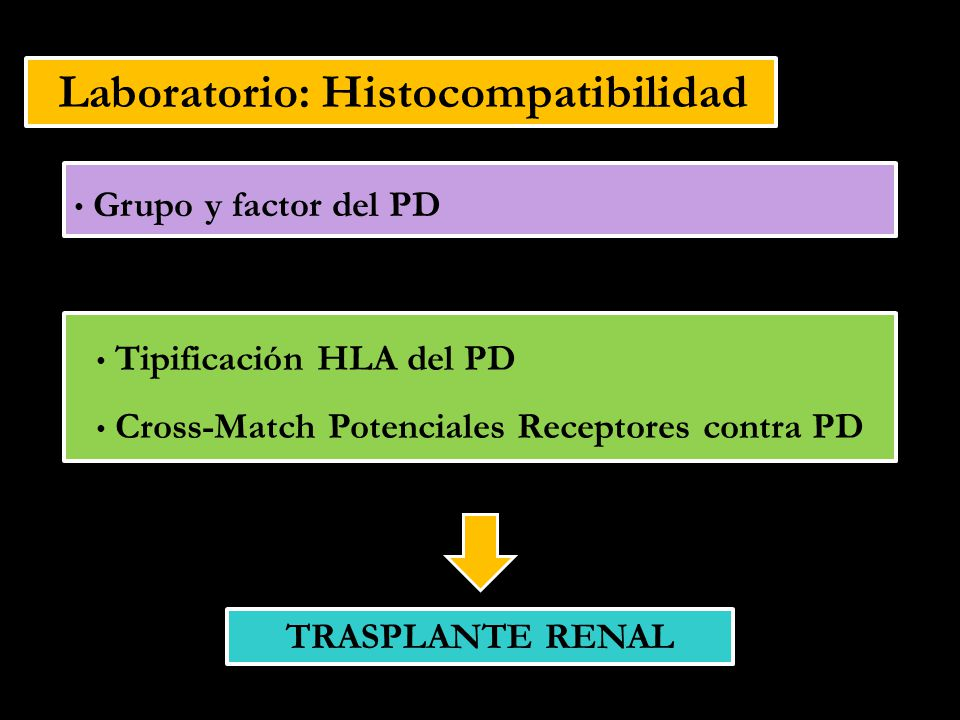 Laboratorio: Histocompatibilidad