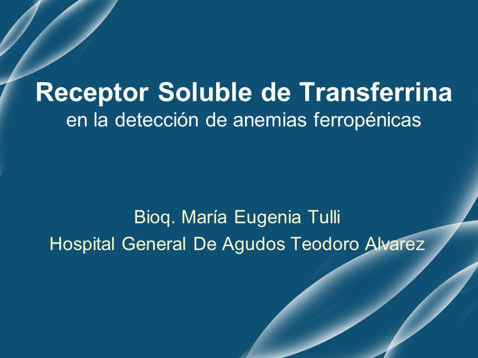 Bioq. María Eugenia Tulli Hospital General De Agudos Teodoro Alvarez